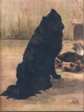 THIS LOVELY PAINTING BY MAUDE EARL WAS THE CHOW FEATURED ART