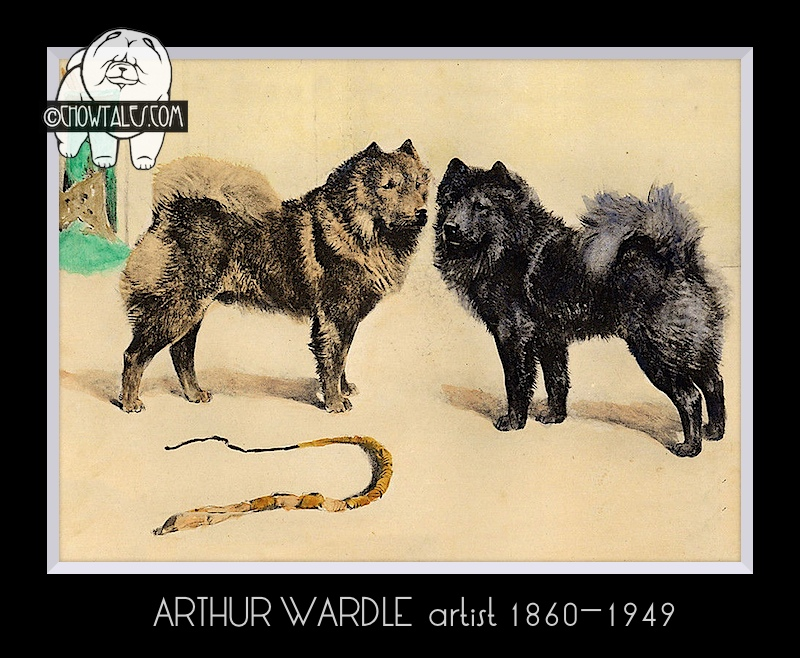 English print Arthur Wardle