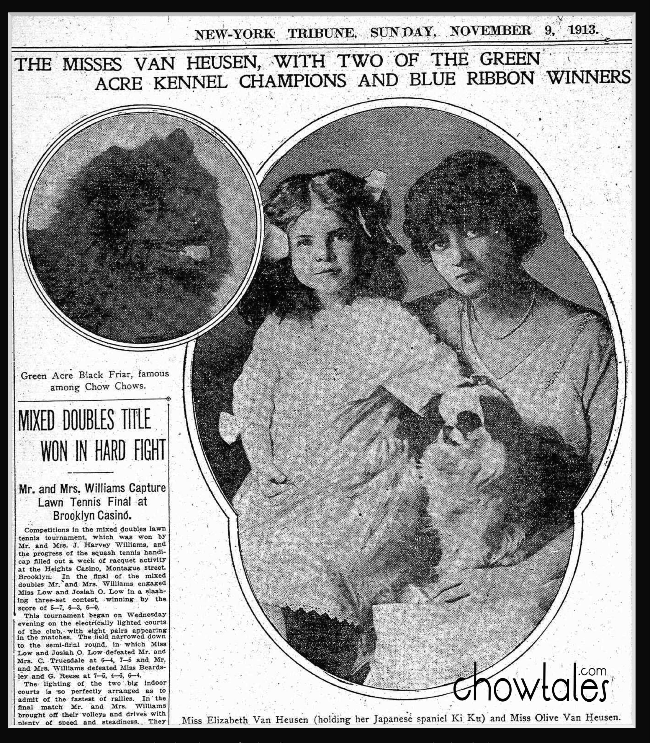 Green Acre Van Heusen New York NY Tribune 1911 Nov - Version 2 (1 of 1) (1)