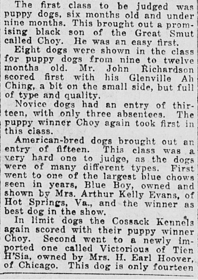 A-1922 Blue Boy Wins National article